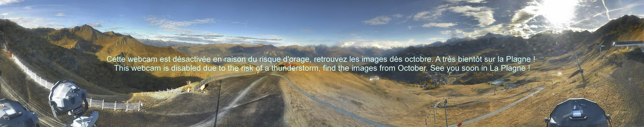 Webcam La Plagne - Becoin - 2.350 m