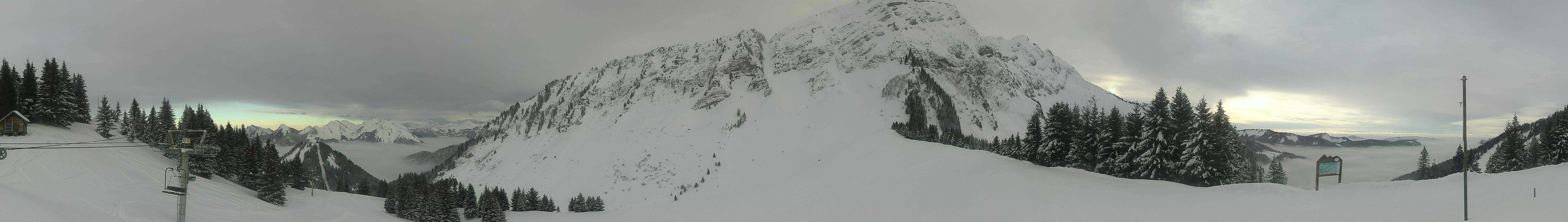 Webcam - Sommet des Têtes- Vallée d'Aulps